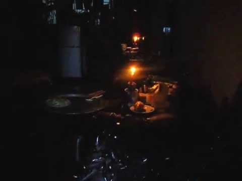Power Goes Out in Hanoi