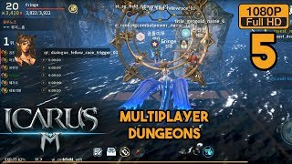 ICARUS M Gameplay Android Part 5 (Open World MMORPG)