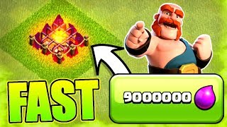 FASTEST WAY TO UPGRADE ARMY CAMPS!............Clash Of Clans