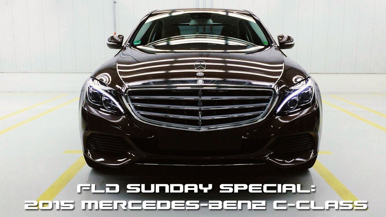 first look: 2015 mercedes-benz c-class - fast lane daily - youtube