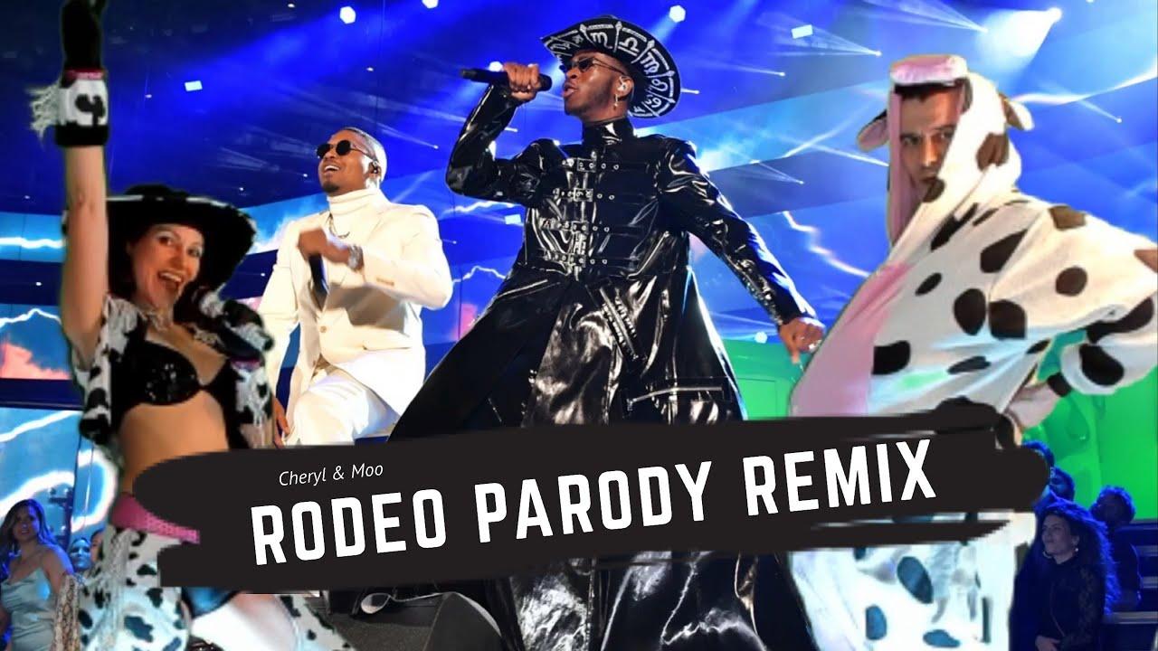 Lil Nas X - Rodeo (ft. Nas) [Parody Video] by Cheryl & Moo🐮 #RodeoRemix #VeganMusic #LilNasXRodeo