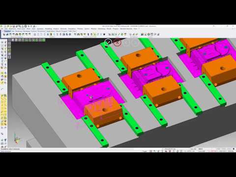 Assembly Management For Multi Cavity Moulds | VISI 2018 R2