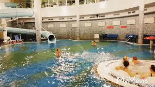 Гостиница Беларусь. Уроки плавания под водой от Белочки