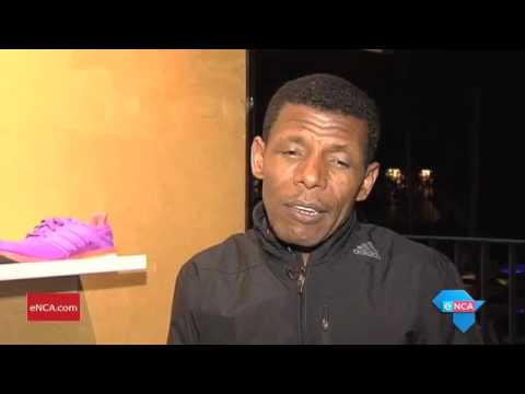Focus on legendary distance runner Haile Gebrselassie