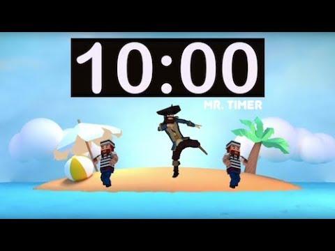 10 Minute Timer with Music! Timer for Kids, Classroom, Homework,  Kindergarten, Preschool, Fun!