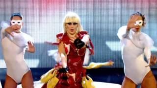 Olivia Lee as Lady Gaga on Let