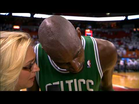 KG after the BIG ECF Game 5 win!