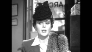 The Maltese Falcon (1941) - Miss Wonderly hires Spade and Archer