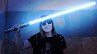 She Builds A Lightsaber, Gets Arrested By Stormtroopers!