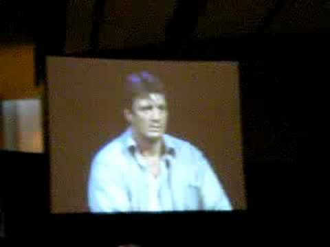 Dragon*Con Firefly Panel 4: Nathan Fillion Soap Opera Face 3