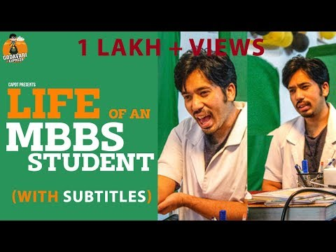 LIFE OF AN MBBS STUDENT( WITH SUBTITLES ) | GODAVARI EXPRESS | CAPDT