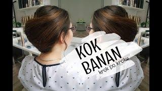 Klasyczny kok banan (kok francuski) krok po kroku - hair by Jul