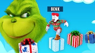ENTKOMME DEM GRINCH OBBY IN ROBLOX!