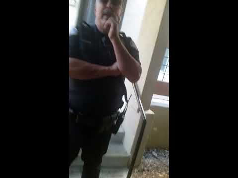 Police harassing me at my home after putting a baton thru my window
