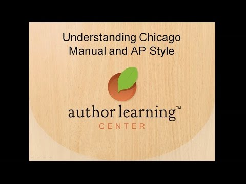 Webinar - Ashley Petry - Understanding Chicago Manual and AP Style