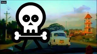 交通事故死者数世界No1 インド チェンナイの危険な衝突寸前ドライブ(でも現地では普通)【再編】 thumbnail