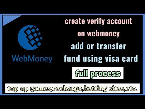 Create Verify Account On Webmoney | Add Or Transfer Fund Using Visa Card |Alternative Present 🎭