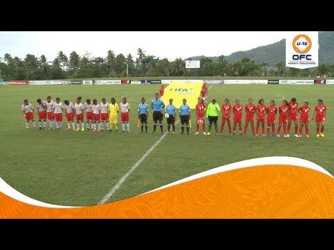 OFC U-16 WOMEN'S CHAMPIONSHIP | New Caledonia v Tahiti Highlights