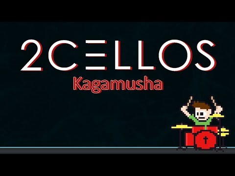 2Cellos - Kagamusha On Drums First Try! -- The8BitDrummer