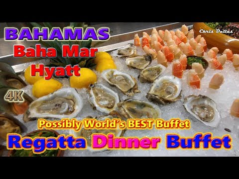Regatta Dinner Buffet Baha Mar Hyatt Bahamas July 9-16 2018