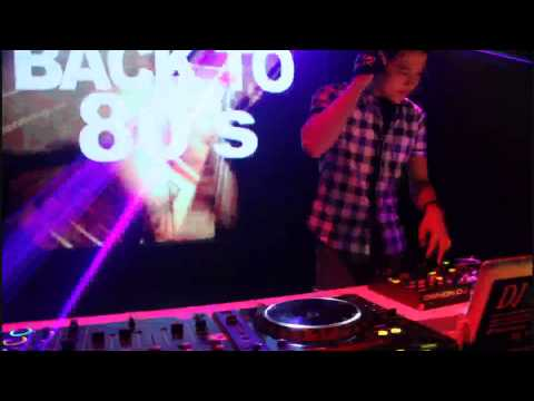 DJ JUNA (Back To 80's) Jakarta April 2013