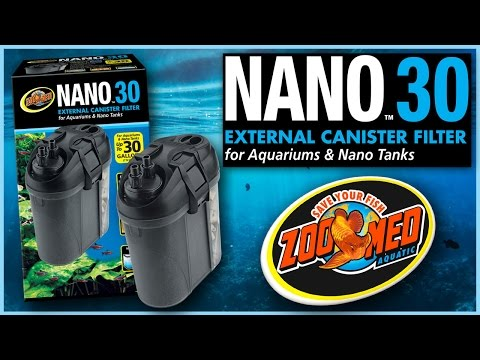 Zoo Med Nano™ 30 External Canister Filter