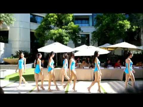 คลิปมิสยูนิเวิร์สไทยแลนด์ 2013โชว์ชุดว่ายน้ำ