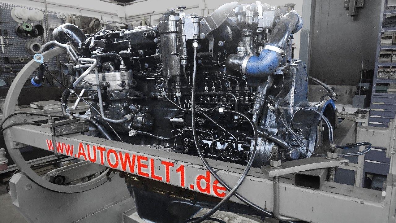Motor MAN TGA-TGX D 2866 Reparatur