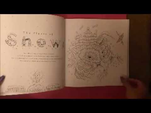 Mysterious Planets Coloring Book Flip-Through - YouTube
