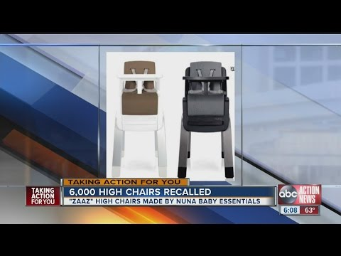 RECALL ALERT: Nuna Baby Essentials recalls high chairs due to fall hazard