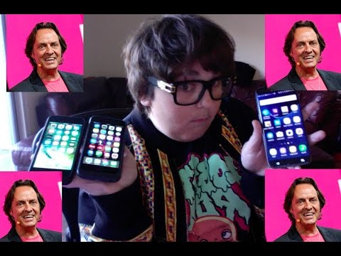 T-Mobile CEO John Legere calls in to give me a free iPhone 7 Plus