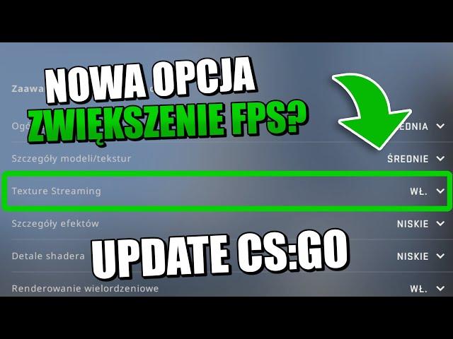 CS:GO - Nowa Opcja na Zwiększenie FPS - UPDATE