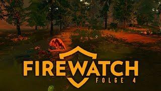 Verwüstetes Camp 🔥 Firewatch