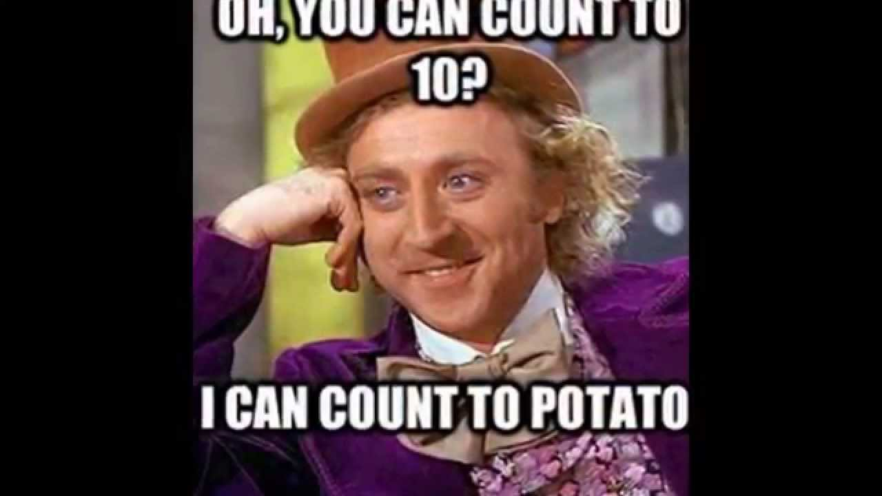 I CAN COUNT TO POTATO!!!!!!!!! (HD) - YouTube
