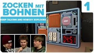 [1/3] Keep Talking And Nobody Explodes mit Gunnar, Colin und Dennis H. | 04.11.2015