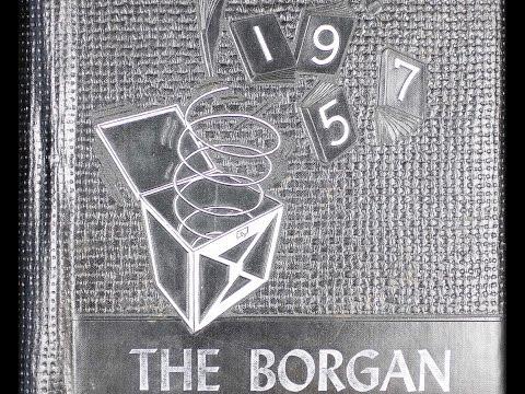 1957 Borger High School yearbook: The Borgan