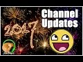 VLOG - Happy New Year!!! My Life & Channel Updates
