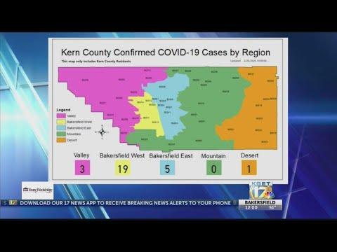 Kern Public Health: 29 Total Cases Of Coronavirus