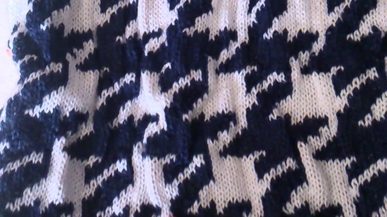 Puntos  pata de gallo y tiahuanacota - YouTube 94febe10d309
