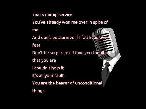 Alanis Morissette - Head Over Feet (lyrics)