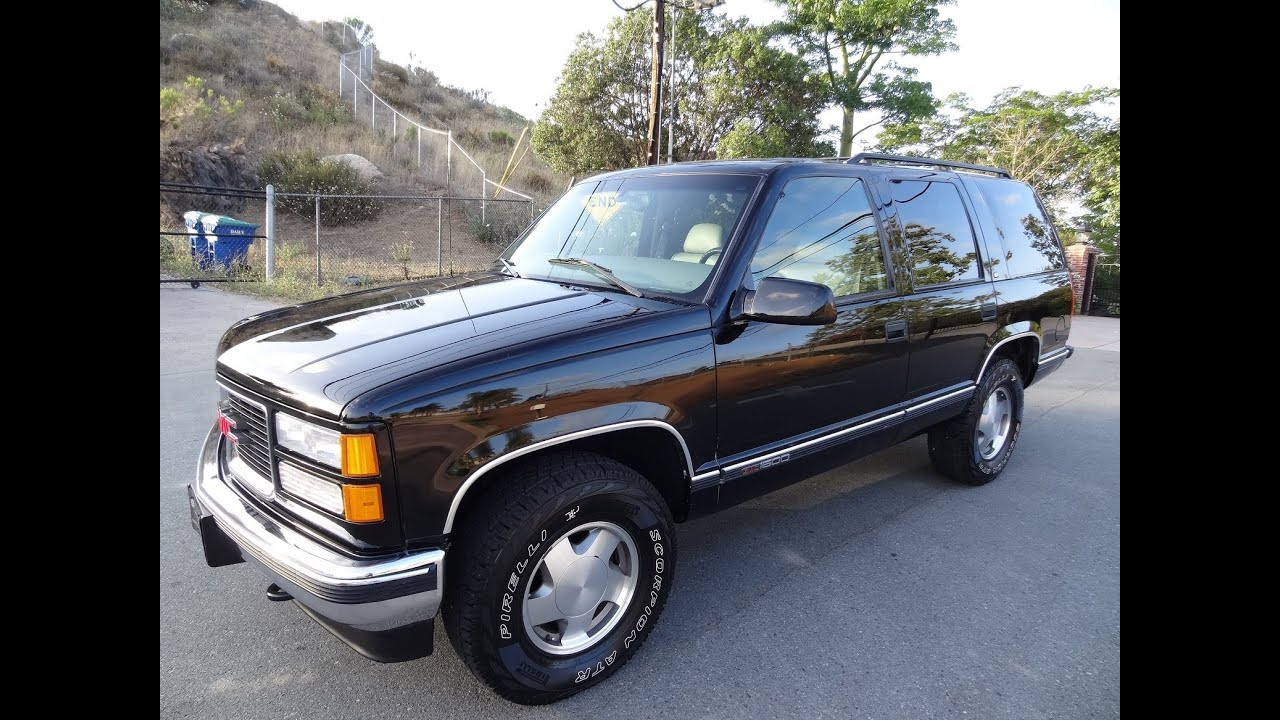 Gmc Yukon For Sale By Owner >> GMC Yukon Tahoe SUV 4x4 1 Owner Chevrolet Tahoe SLT XL Blazer 5.7L 350 Off Road Truck Video ...