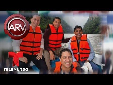 Enrique Peña Nieto borró una foto con Julión Alvarez | Al Rojo Vivo | Telemundo