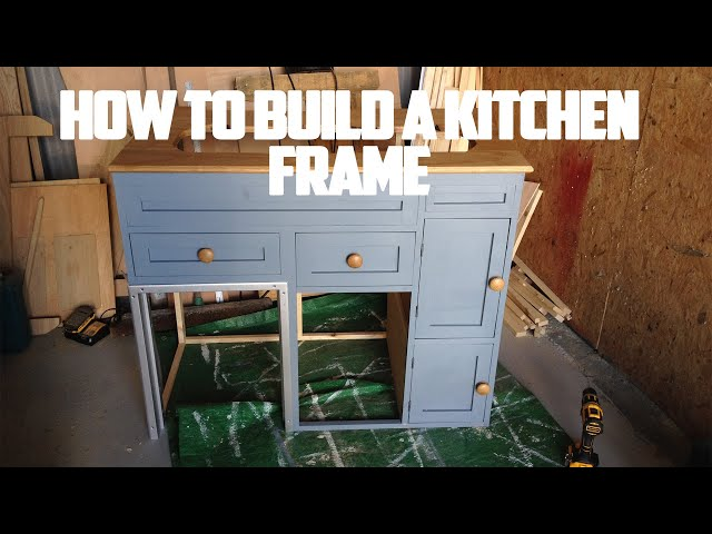 How To Build A Kitchen Frame For Your Camper Van - Part - How To Convert/Build A Camper Van