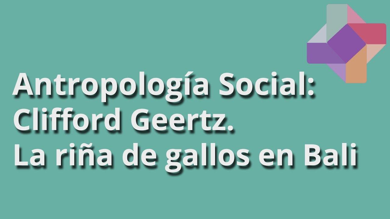 JUEGO PROFUNDO GEERTZ PDF DOWNLOAD