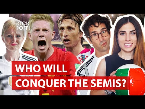 England, Croatia, France or Belgium - Who will make it to the World Cup final 2018?