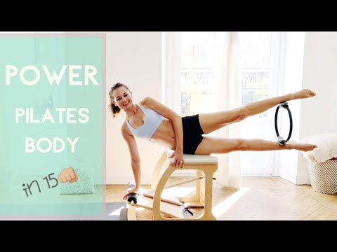15 minute POWER Pilates Chair workout PREVIEW