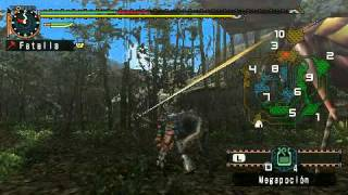 Monster Hunter Freedom Unite: Rathian Vs. Noob