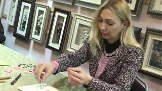 Как сделать бумажную живопись
