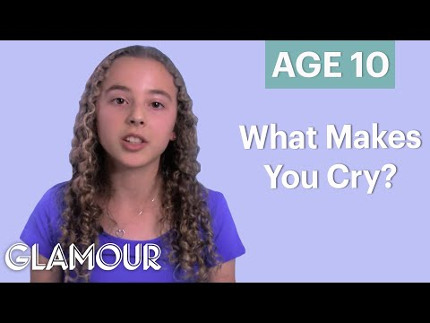 70 People Ages 5-75 Answer: What Makes You Cry? | Glamour