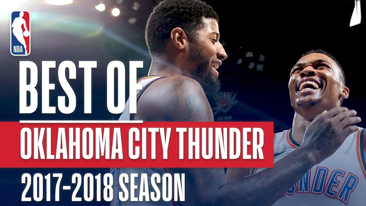 Best of Oklahoma City Thunder | 2017-2018 NBA Season